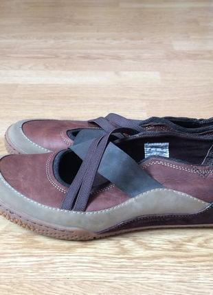 Новые кожаные туфли merrell германия 42 размера1 фото