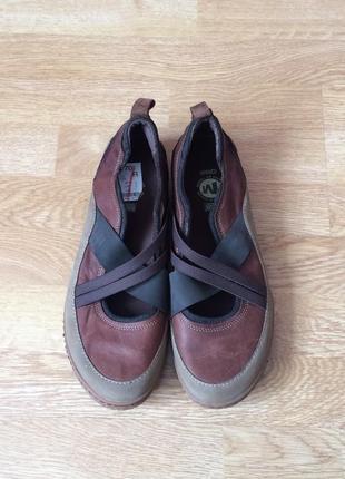 Новые кожаные туфли merrell германия 42 размера2 фото