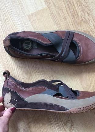 Новые кожаные туфли merrell германия 42 размера3 фото