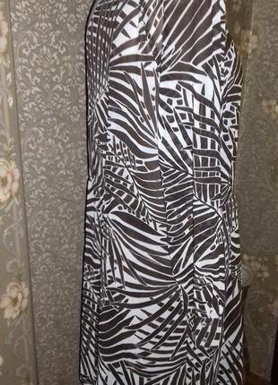 Легкое платье- туника zara basic5 фото