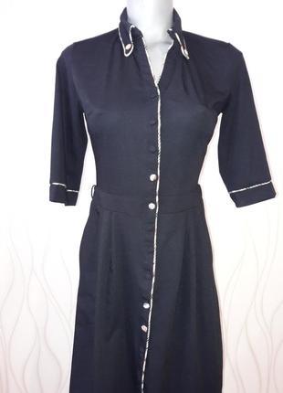 Супер красивое, супермодное, офисное и нарядное платье. burberry8 фото