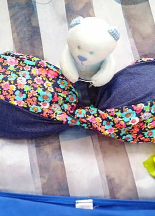 Модный раздельный купальник 👙 бандо,  h&m3 фото