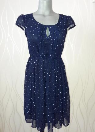 Невероятно красивое и легкое, нарядное платье. ткань- шифон. на подкладке.  tenki2 фото