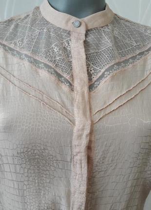 Невероятно красивое, нежное, ажурное платье персикового  цвета.5 фото
