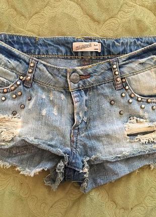 Короткие джинсовые шорты zara pull&bear!