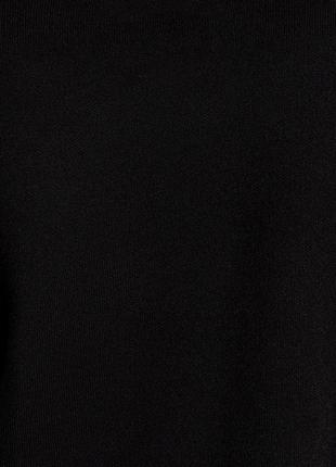 Черно белая блуза футболка zara zara5 фото