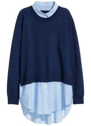 Джемпер блуза рубашка zara1 фото