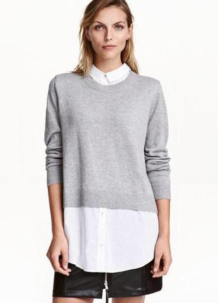 Джемпер блуза рубашка zara3 фото