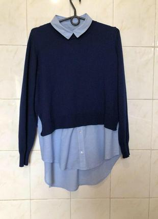 Джемпер блуза рубашка zara4 фото