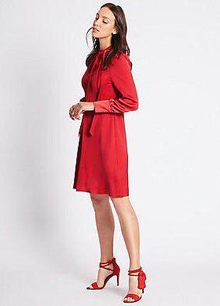 Красное платье большого размера zara3 фото