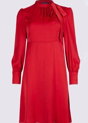 Красное платье большого размера zara4 фото