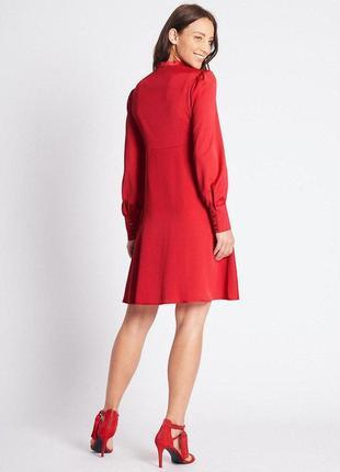 Красное платье большого размера zara2 фото