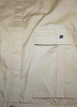 Шикарная котоновая курточка вставки мешковина , офигительная2 фото