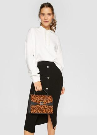 Новая сумка леопард stradivarius3 фото