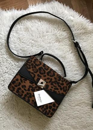 Новая сумка леопард stradivarius7 фото