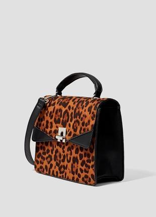 Новая сумка леопард stradivarius2 фото