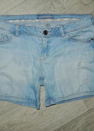 Шорты джинсовые l 12р. promod3 фото