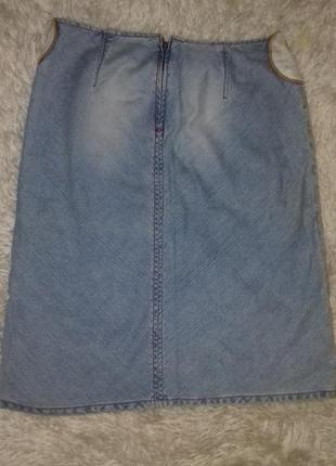 Джинсовая юбка miss sixty3 фото