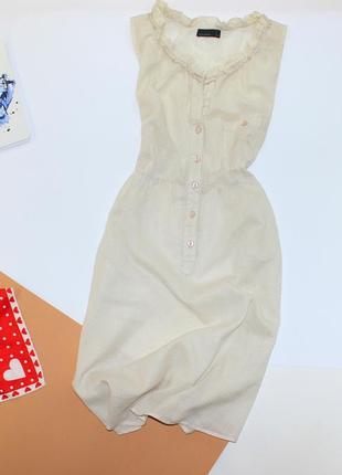 Легкое мягкое хб платье рубашка в клетку1 фото