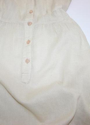 Легкое мягкое хб платье рубашка в клетку3 фото