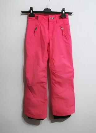 Акция!1+1=3 💐 качественные теплые штаны неон, 128 см protest