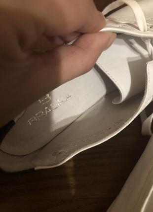 Кожаные туфли braska3 фото