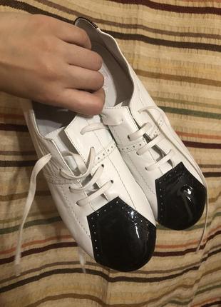 Кожаные туфли braska1 фото
