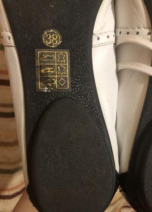 Кожаные туфли braska6 фото