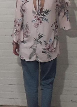 Шикарная нежная блузка10 фото