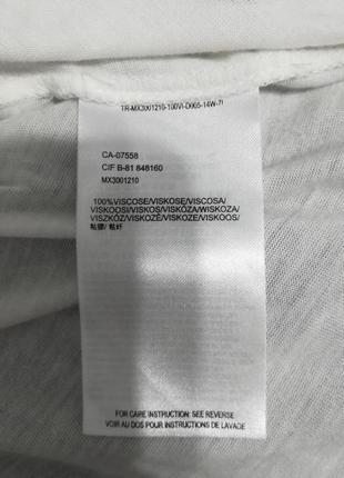 Белая качественная базовая блуза топ реглан, mexx, s-m4 фото