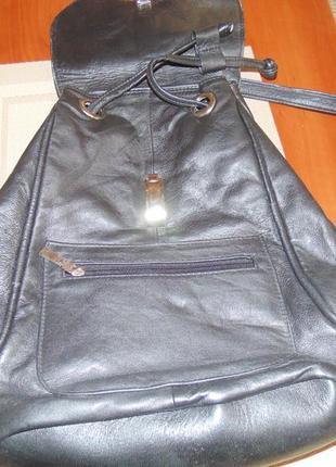Городской рюкзак для модницы   натуральная кожа4 фото