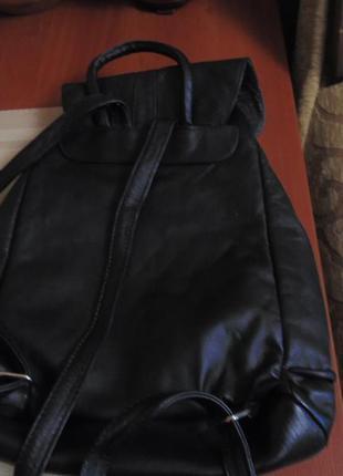 Городской рюкзак для модницы   натуральная кожа3 фото