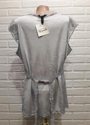 Эффектная блуза туника5 фото
