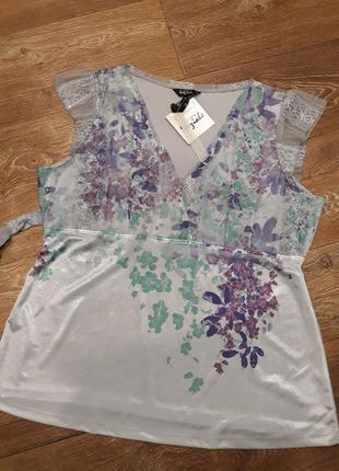 Эффектная блуза туника