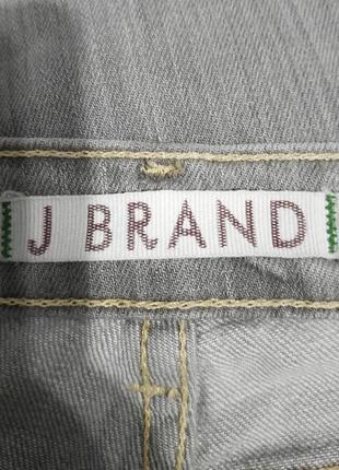 Легендарные серые прямые джинсы j brand, 28 р6 фото