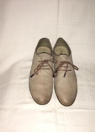 Туфли *tamaris* кожа-нубук германия р.38 (25.00см)5 фото