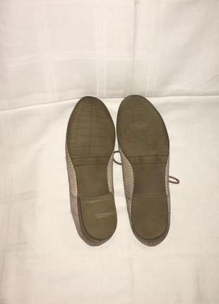 Туфли *tamaris* кожа-нубук германия р.38 (25.00см)9 фото
