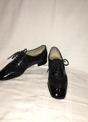 Туфли * brunate* кожа италия р.39 (25.50см)2 фото