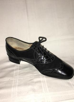 Туфли * brunate* кожа италия р.39 (25.50см)5 фото