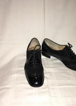 Туфли * brunate* кожа италия р.39 (25.50см)4 фото