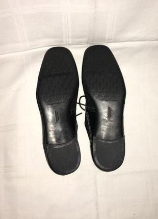 Туфли * brunate* кожа италия р.39 (25.50см)10 фото