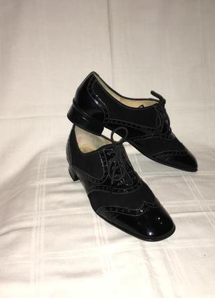 Туфли * brunate* кожа италия р.39 (25.50см)1 фото