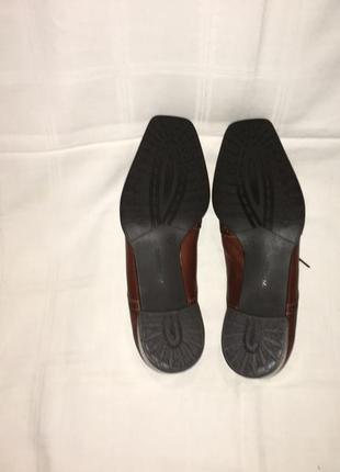 Туфли * theresia m.* кожа германия р.41 (27.00см)8 фото