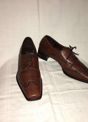 Туфли * theresia m.* кожа германия р.41 (27.00см)1 фото