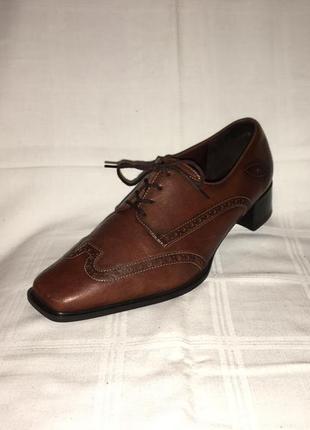 Туфли * theresia m.* кожа германия р.41 (27.00см)2 фото