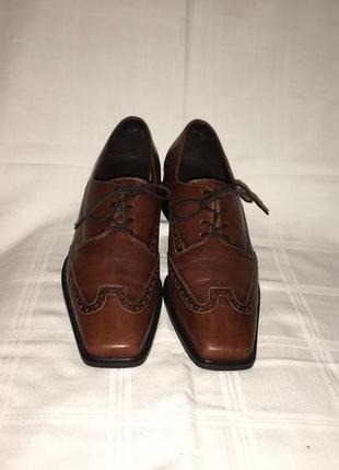 Туфли * theresia m.* кожа германия р.41 (27.00см)3 фото