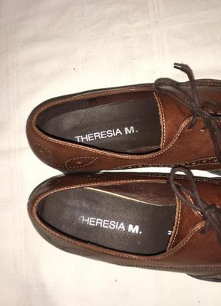 Туфли * theresia m.* кожа германия р.41 (27.00см)5 фото