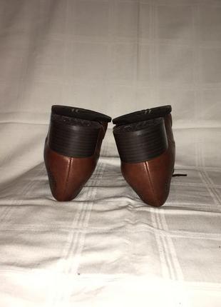 Туфли * theresia m.* кожа германия р.41 (27.00см)7 фото