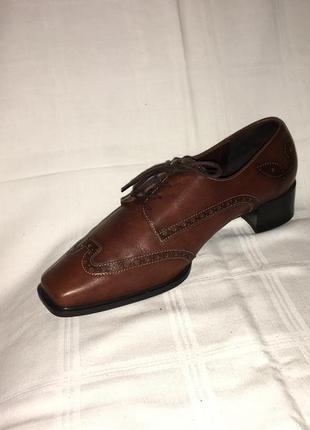 Туфли * theresia m.* кожа германия р.41 (27.00см)4 фото