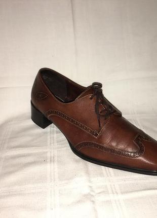 Туфли * theresia m.* кожа германия р.41 (27.00см)6 фото